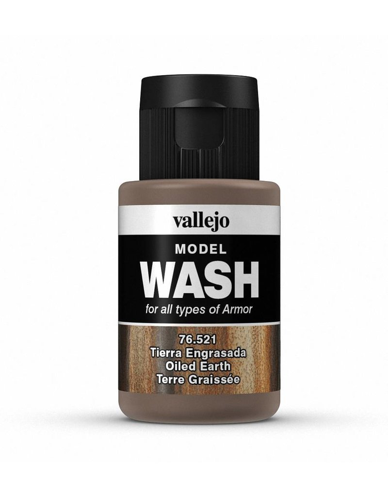 Vallejo Model Wash – Oiled Earth 35ml