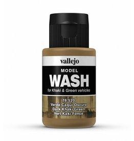 Vallejo Dark Khaki Green Wash