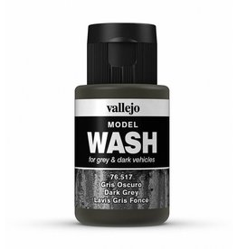 Vallejo Dark Grey Wash 35ml