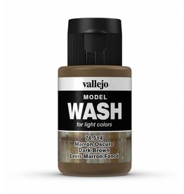 Vallejo Dark Brown Wash 35ml