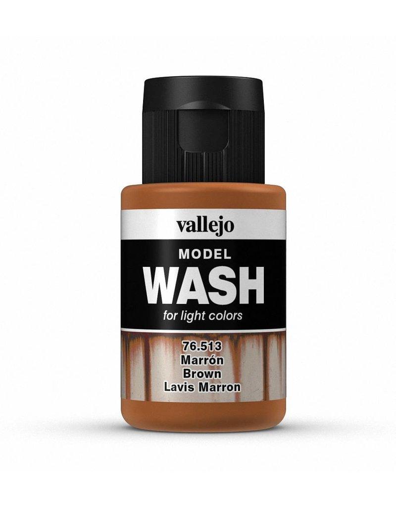Vallejo Model Wash – Brown 35ml