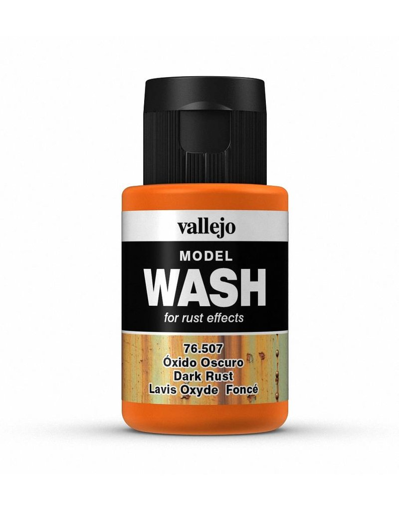 Vallejo Model Wash - Dark Rust 35ml