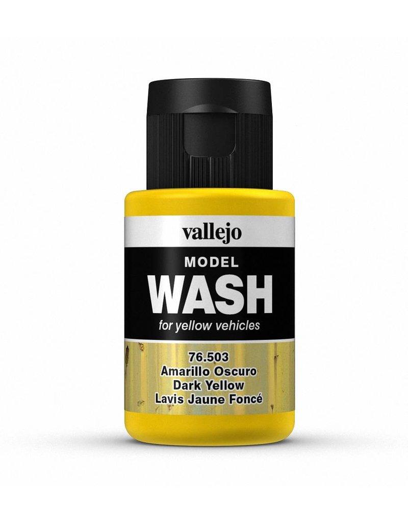 Vallejo Model Wash - Dark Yellow 35ml