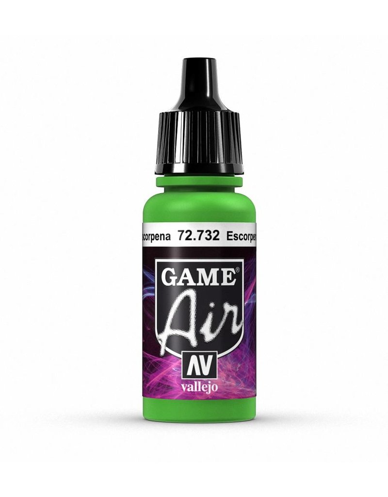 Vallejo Game Air - Escorpena Green 17ml
