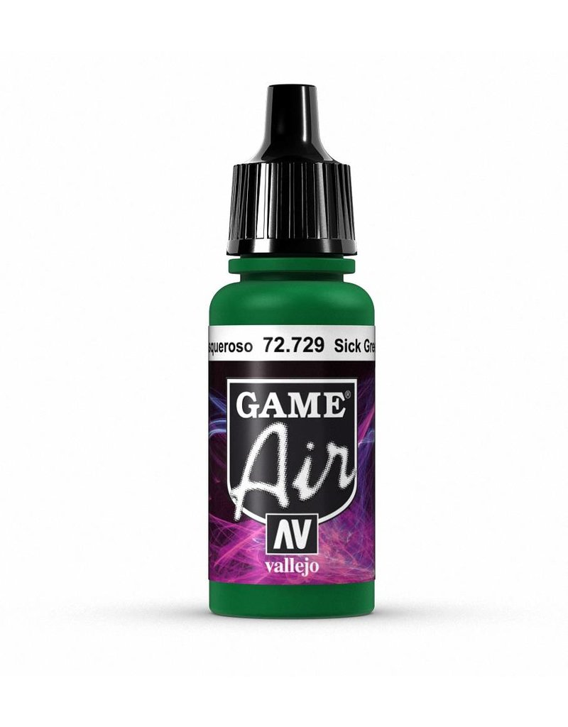 Vallejo Game Air - Sick Green 17ml