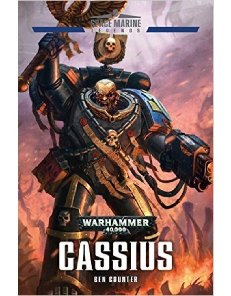 Games Workshop Spacemarine Legends Cassius (HB)