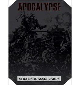 Games Workshop Apocalypse Strategic Asset Cards (EN)