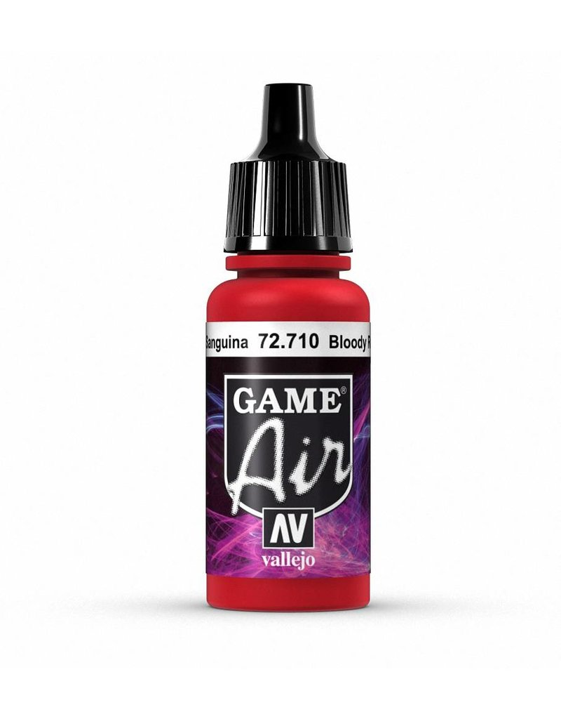 Vallejo Game Air - Bloody Red 17ml