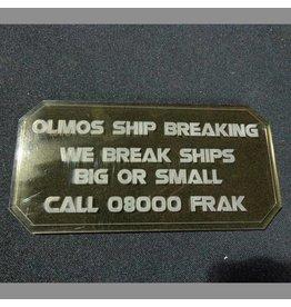 TT COMBAT Sign G (Olmos Ship Breaking)
