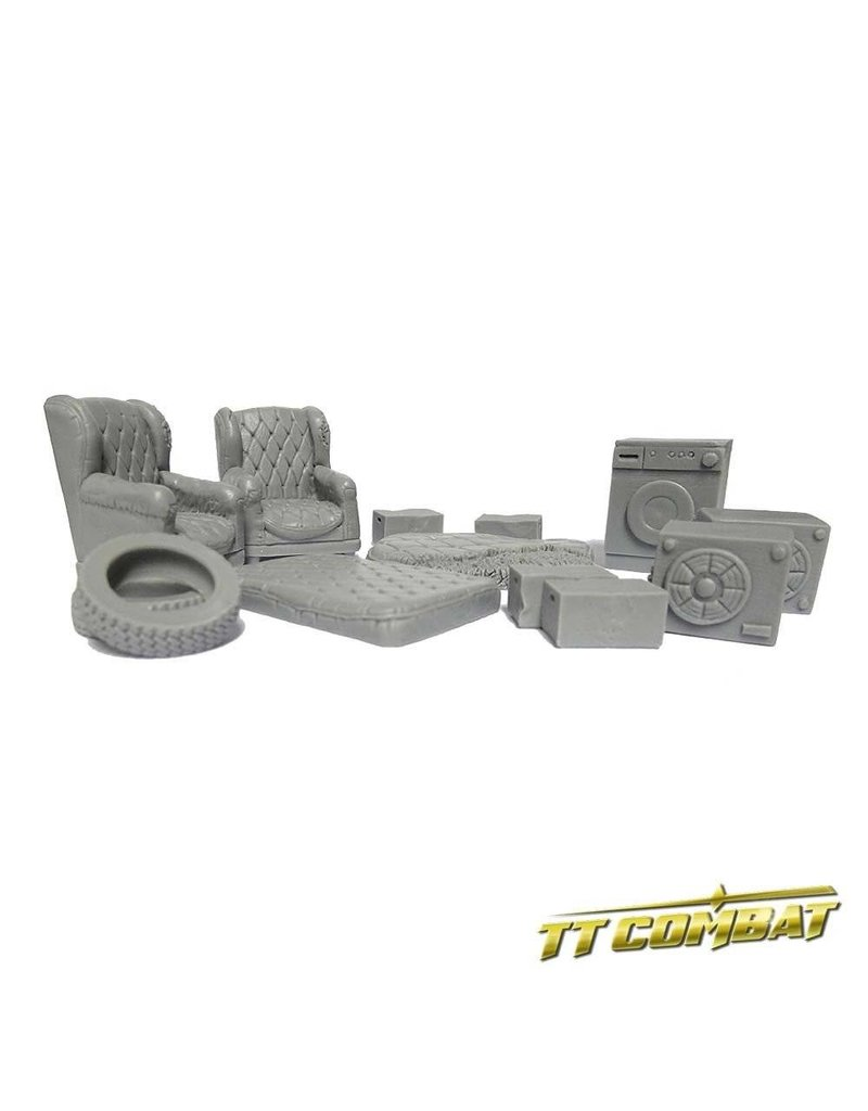 TT COMBAT Back alley Accessories 3