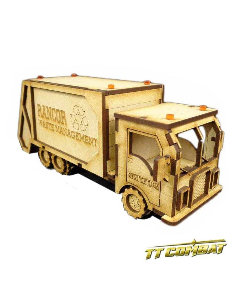 TT COMBAT Garbage Waste Truck