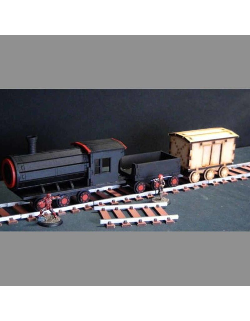 TT COMBAT Steam Train And Track