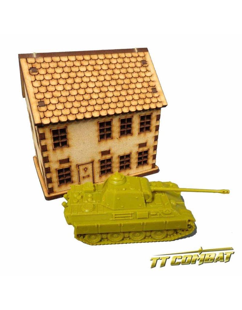 TT COMBAT 15mm Town House