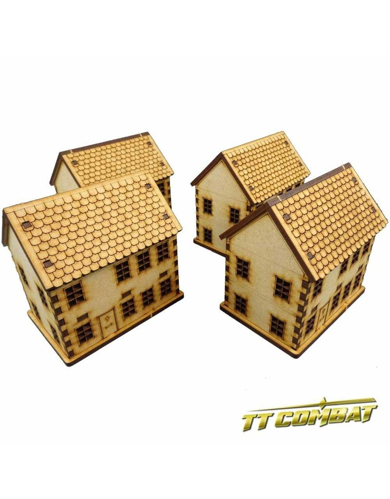 TT COMBAT 15mm Town House Set