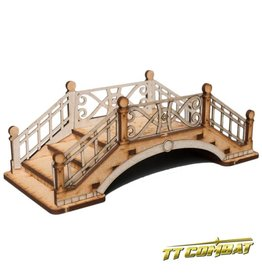 TT COMBAT Small Bridge B (Metal Rails)