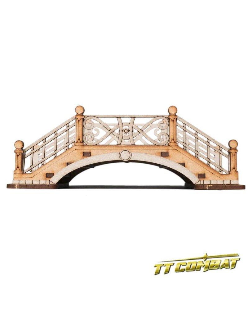 TT COMBAT Small Bridge B (Metal Rails)
