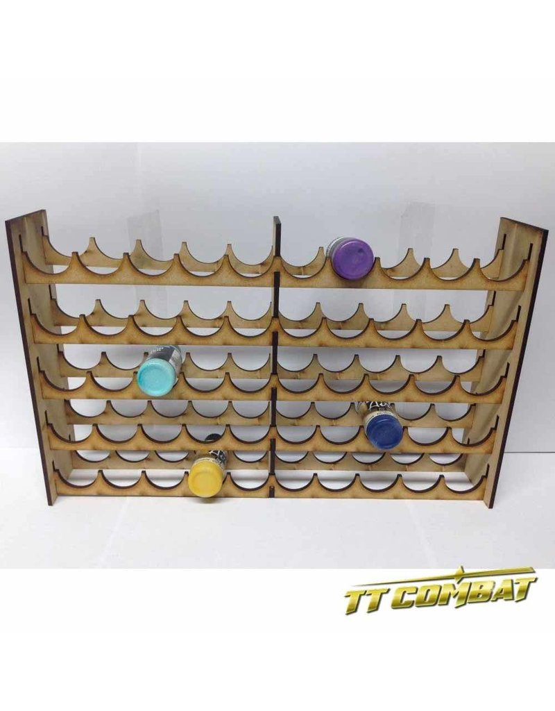 TT COMBAT Vallejo Mega Paint Rack 50
