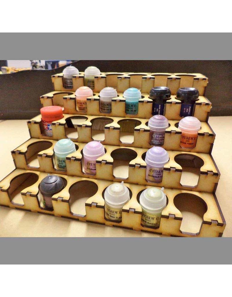 TT COMBAT Paint Rack 30 GW/Citadel/Tamiya Size