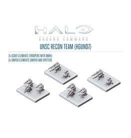 Spartan Games UNSC Recon Team