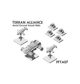 Spartan Games Terran Alliance Ground Attack Helix