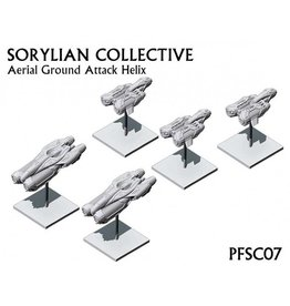 Spartan Games Sorylian Collective Ground Attack Helix