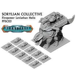 Spartan Games Sorylian Collective Firepower Leviathan Helix