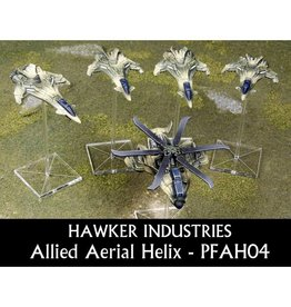 Spartan Games Hawker Industries Allied Aerial Helix