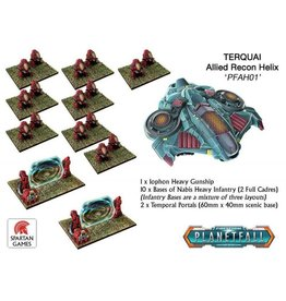Spartan Games Terquai Allied Recon Helix