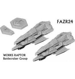 Spartan Games Works Raptor Battlecruiser Group