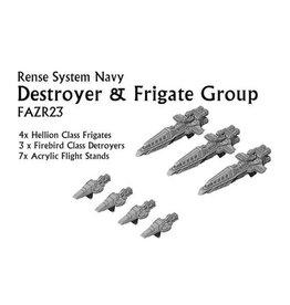 Spartan Games RSN Destroyer & Frigate Group