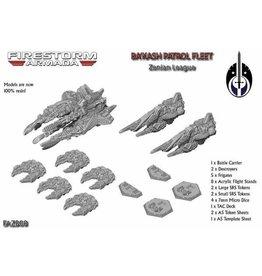 Spartan Games Ba'Kash Patrol Fleet