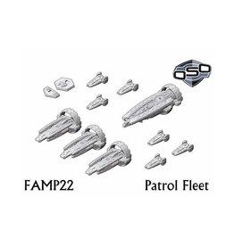 Spartan Games Omnidyne Patrol Fleet