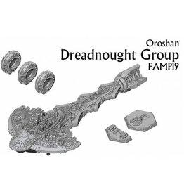 Spartan Games Oroshan Dreadnought Group