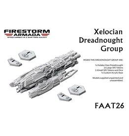 Spartan Games Xelocian Dreadnought Group