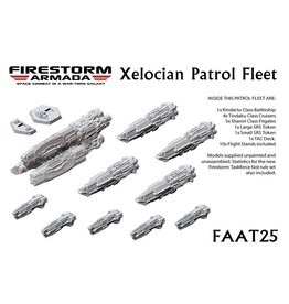 Spartan Games Xelocian Patrol Fleet