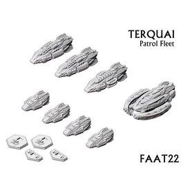 Spartan Games Terquai Patrol Fleet
