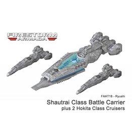 Spartan Games Ryushi Shautrai Class Battle Carrier