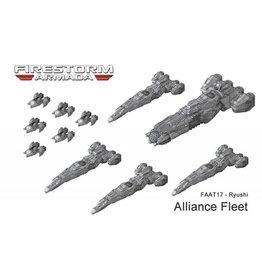 Spartan Games Ryushi Patrol Fleet