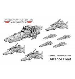 Spartan Games Hawker Industries Alliance Fleet