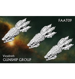 Spartan Games Veydreth Gunship Group