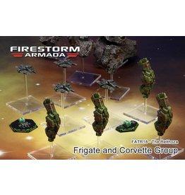 Spartan Games Relthoza Frigate & Corvette Group