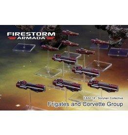 Spartan Games Sorylian Frigate & Corvette Group