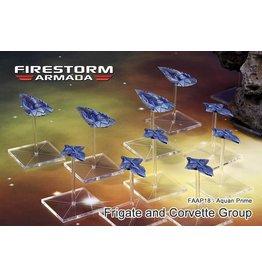 Spartan Games Aquan Frigate & Corvette Group