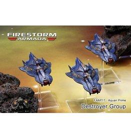 Spartan Games Aquan Destroyer Group