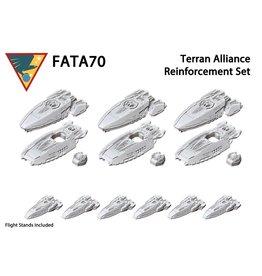 Spartan Games Terran Alliance  Reinforcement Set