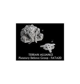 Spartan Games Terran Alliance Planetary Defence Group