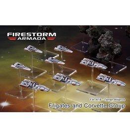 Spartan Games Terran Alliance Frigate & Corvette Group