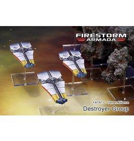 Spartan Games Terran Alliance Destroyer Group