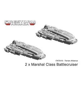 Spartan Games Terran Alliance Battlecruiser Group