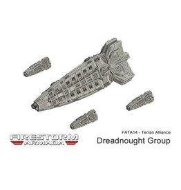 Spartan Games Terran Alliance Dreadnought Group